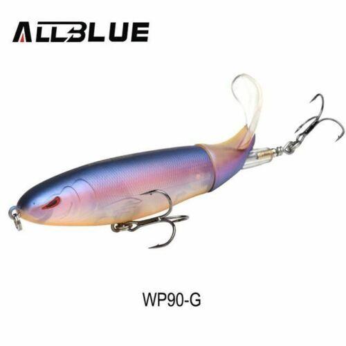 Whopper Popper 9cm//11cm//13cm Topwater Fishing Lure Artificial Bait Hard Plopper