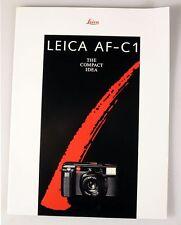 LEICA AF-C1 INFORMATION