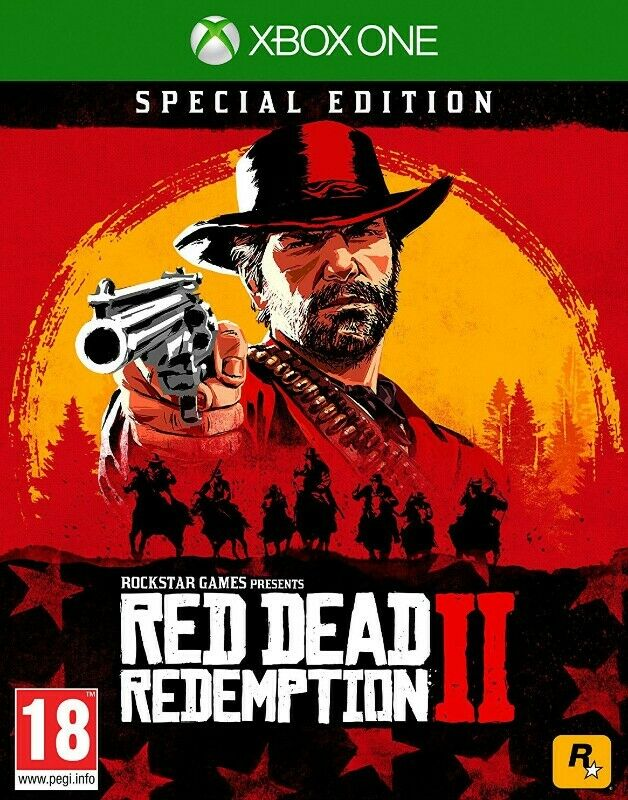 Xbox One Red Dead Redemption 2 - Standard and Special Editions (brand new)