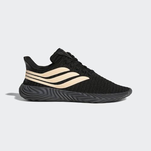 Adidas BB7674 sobakov Chaussures De Course Noir Orange paniers