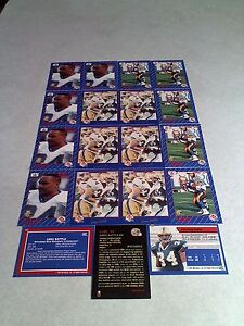 Greg-Battle-Lot-of-35-cards-5-DIFFERENT-Football-CFL