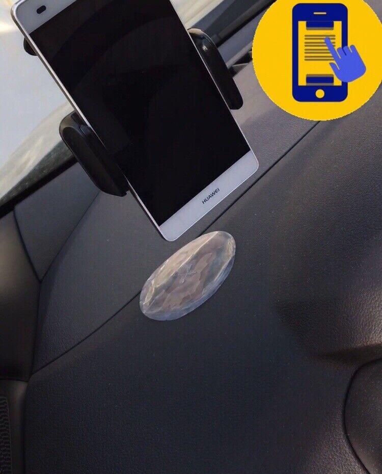 soporte coche para movil ventosa Robusto Mobile Phone Holder Silicone Sucker