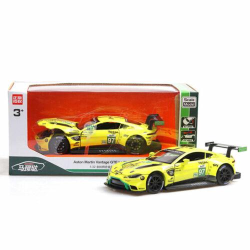 1:32 Aston Martin Vantage GTE Le Mans Model Car Alloy Diecast Toy Vehicle Gift
