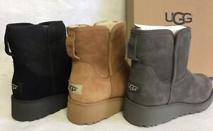 Image is loading Ugg-Australia-Kristin-1012497-Women-039-s-Black-