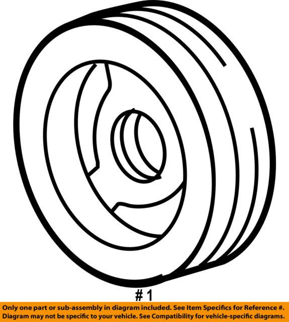 Buy Oem Gm Crankshaft Balancer Pulley 19300488 Online