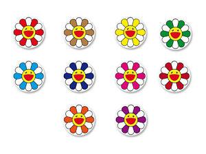 Magnet Aimant Frigo Ø38mm Fleur Flower Kawaii Japan Murakami