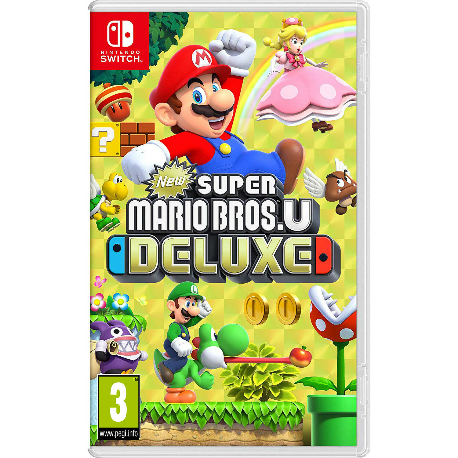 Nintendo Switch Games: Super Mario Bros. U Deluxe