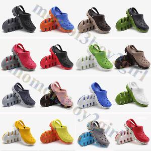 7520ebc14ad6 Unisexe Croc Duet Sport Clogs pantoufles Sabots Sandales Chaussures ...