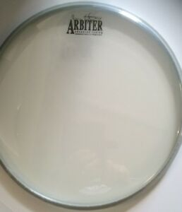 remo usa clear 12 drum head with arbiter logo special clearance price ebay. Black Bedroom Furniture Sets. Home Design Ideas