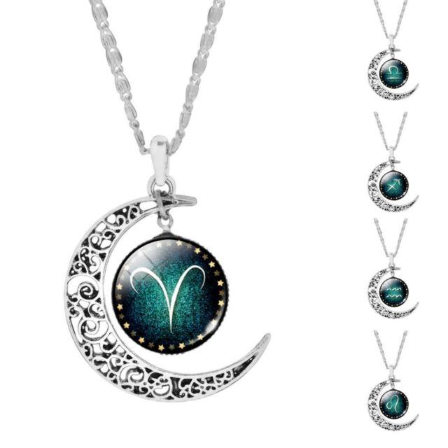 Lux Accessories Gold ToneCapricorn Zodiac Constellation Horoscope Necklace