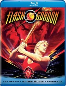 FLASH-GORDON-Blu-ray-New-amp-Sealed-FREE-SHIPPING-SciFi-BMovie