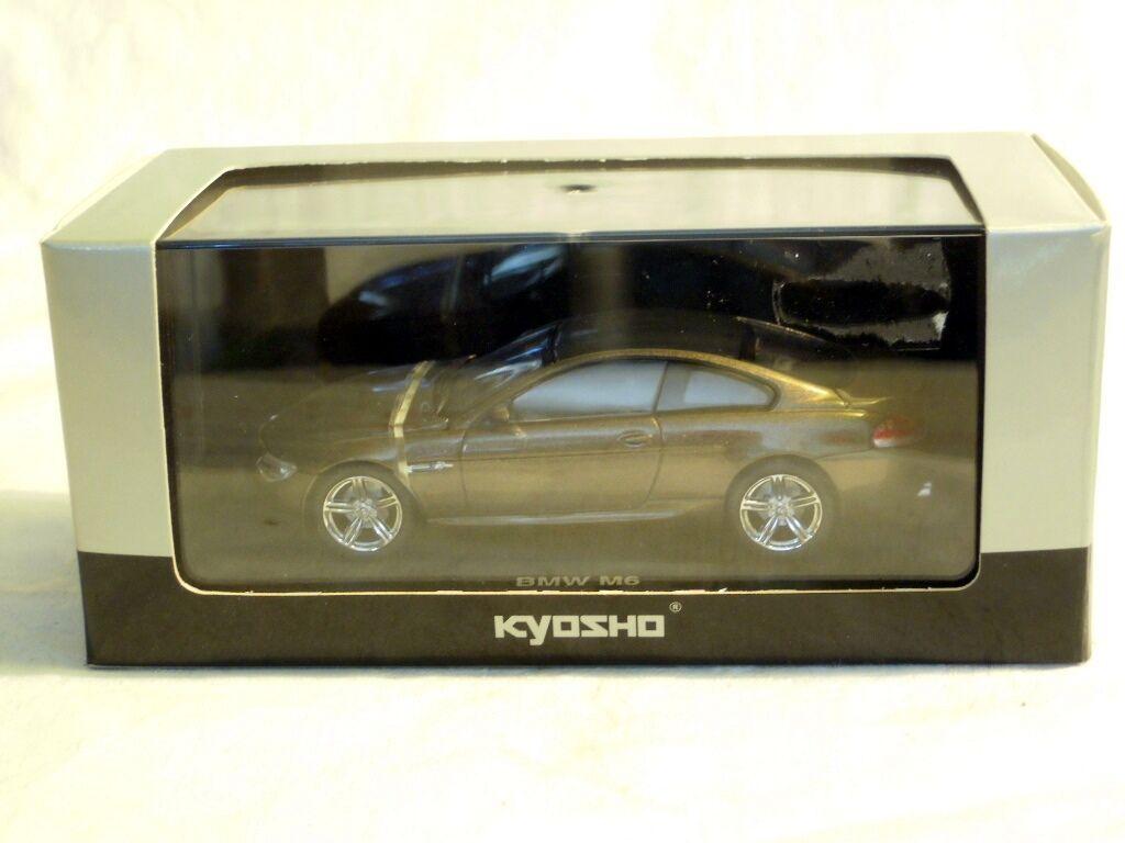 Kyosho 03513bz  bmw m6-bronce, listo modelo en 1 43, nuevo con embalaje original