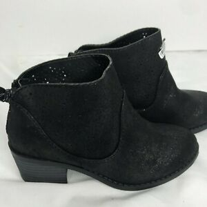 Art-Class-black-sparkly-ankle-boot-size-13