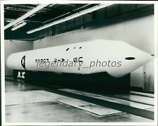 1980 Full-Scale Mockup of Mobile M-X ICBM Original News Service Photo