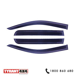 #2282016 Tinted Weathershields to suit Nissan Navara MY19 ...