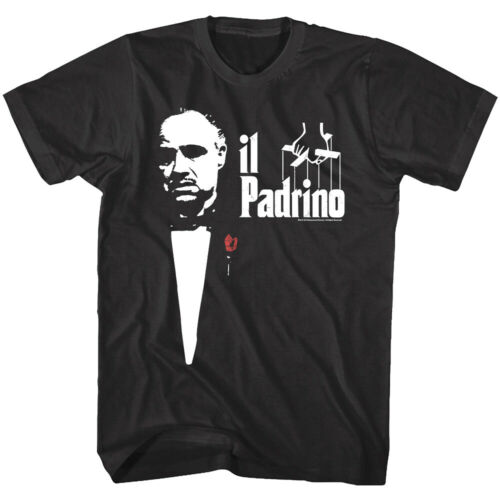 OFFICIAL Godfather Don Vito Corleone Padrino Logo Men/'s T-Shirt