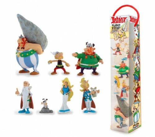 Astérix tubo 7 figurines Characters 2,5-9,5 cm