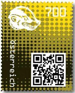 Crypto-Stamp-2-0-Honigdachs-GELB-im-Folder-Postfrisch-MNH-4-Bilder-gt