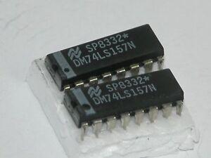 2pk-74LS157-16-Pin-Dip-Pkg-ICs