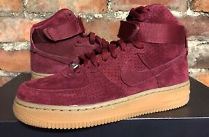 nike air force 1 suede rouge femme