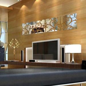 32pcs-Diy-3D-Miroir-Acrylique-Decalcomanie-Art-Mural-Autocollant-Decor-Maison