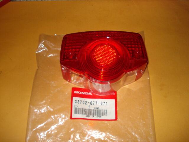 HONDA CB500 CB450 CL450 CB350 CL350 CL100 CB175 CT90 S90 tail light lens OEM
