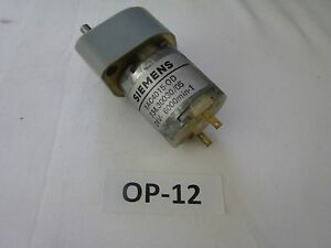 Siemens-Moteur-Electrique-Motoreducteur-1AC4015-OD-734-30030-05-24V-6000min-1