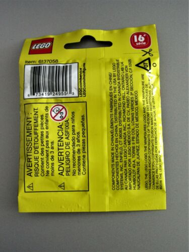 LEGO SEALED Series 16 Banana Guy Peel Food Costume Minifigure Halloween