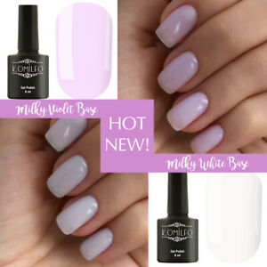 Milky White Gel Nail Polish - Nail and Manicure Trends