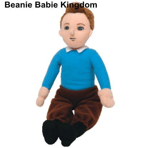 "TIN TIN TY BEANIE BABIE FROM THE ADVENTURES OF TINTIN 10/"" TALL"