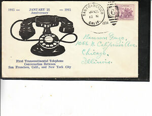 RARE-ADVERTISING-LARGE-BLACK-TELEPHONEJAN-25-1915-1934-1ST-TRANSCONTINENTAL-CALL