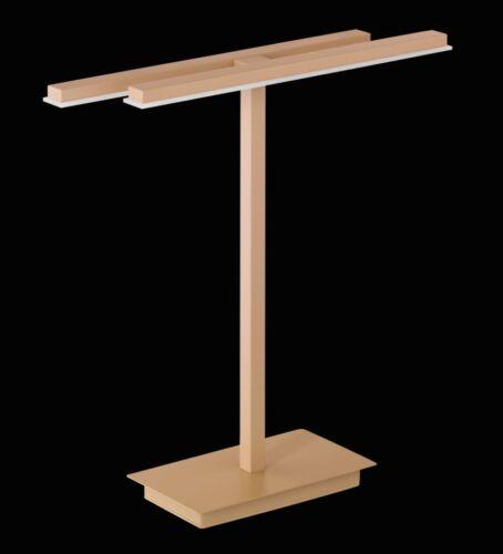 LED Tischleuchte 11W Mikado Cappucino Nachttischleuchte Tischlampe Honsel 52661