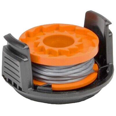 Worx Spool Cover Cap x1 /& Line x3 WG150E WG151E WG151E-A Grass Strimmer Trimmer
