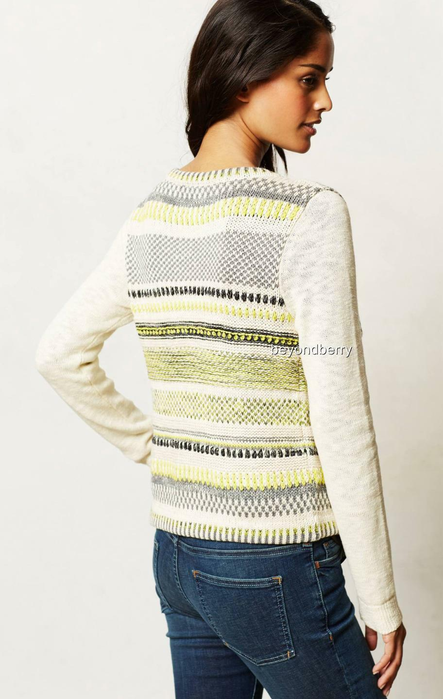 NEW NEW NEW Anthropologie Chaux Cardigan by Moth  Size M b59c76