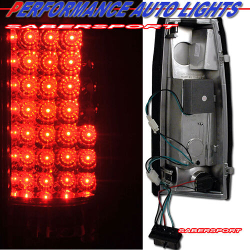 Details about  /Set of G2 Chrome LED Taillights for 88-99 GM C//K 1500 2500 3500 Yukon Suburban