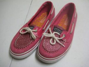 039;s Top-Sider Boat Shoes Pink Glitter