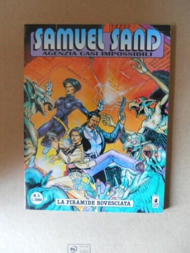 G873 SAMUEL SAND Agenzia Casi Impossibili n°5 ed Star Comics