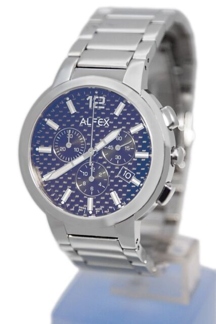 ALFEX Herrenuhr Quarz Chronograph 5636-107 Swiss Made UVP 398,00 Euro
