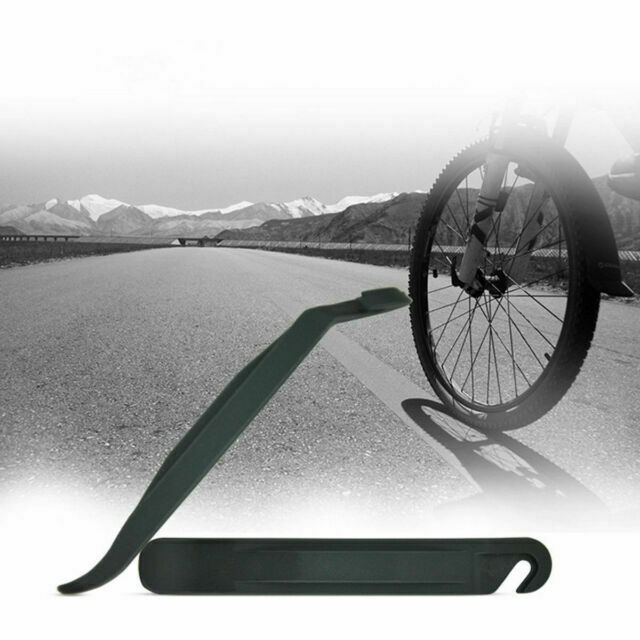 3 PCS Bicycle Tire Tyre Lever MTB Bike Cycling repair Opener Breaker Tools Black