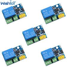 5 Pcs Esp8266 5v Wifi Relay Module Smart Home Phone Remote Control Switch App