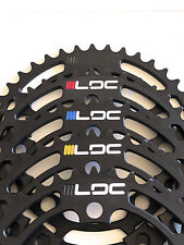 PROFILE RACING 4-BOLT 104MM 41T BLACK BMX BICYCLE CHAINRING