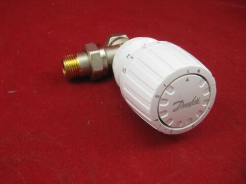 "Danfoss Thermostatventil 1//2/"" Eck Thermostatkopf  RA 2990 Heizkörper Ventil"