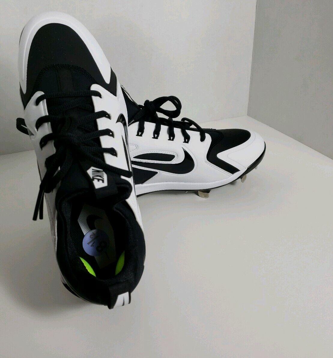 Nuevo Nike Alpha Huarache Elite  Botines de béisbol Negro blancoo De Hombre Tallas 8.5  lo último