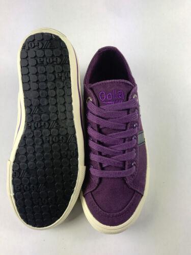 Canvas ***NEW*** Gola Quota Kids Purple//Navy Great Look!