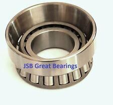 (Qty.1) M12649 / M12610 tapered roller bearing set (cup & cone) bearings