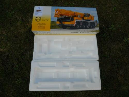 !..... CONRAD 1//50 BOX EMBALLAGE LIEBHERR LTM 1200-5.1 REF 2101 BOITE VIDE