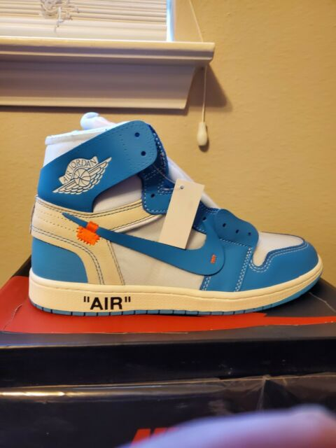 c28bd445c2477b Air Jordan 1 Retro High X off White UNC Size 11 W  Receipt for sale ...