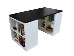 Libreria Ufficio Wenge : Scrivania libreria design moderno tavolo studio ufficio cameretta pc