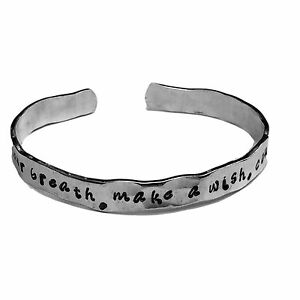 Hold-your-breath-make-a-wish-count-to-three-Confidence-Bracelet-Cuffs-1-4-034-H