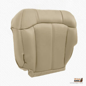 1999 2000 2001 2002 Chevy Tahoe Driver Bottom Leather Seat Cover Gray Trim # 922 Car & Truck Parts Automotive